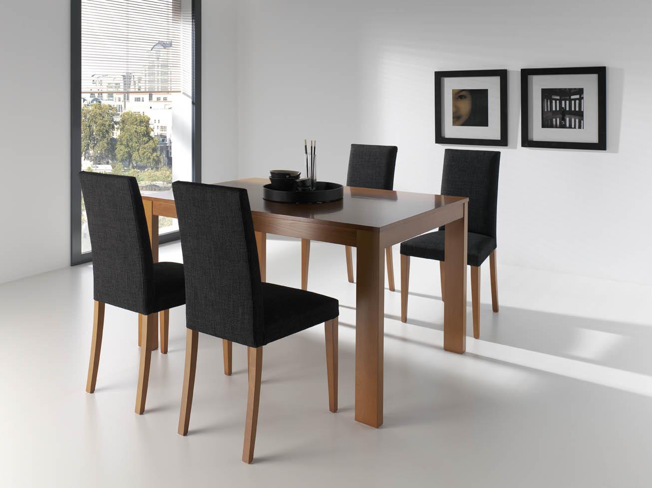 Pack mesa 4 sillas salon del mueble - Sillas de comedor modernas ...