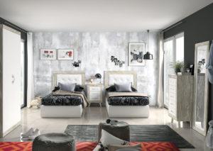 Dormitorio individual Low cost