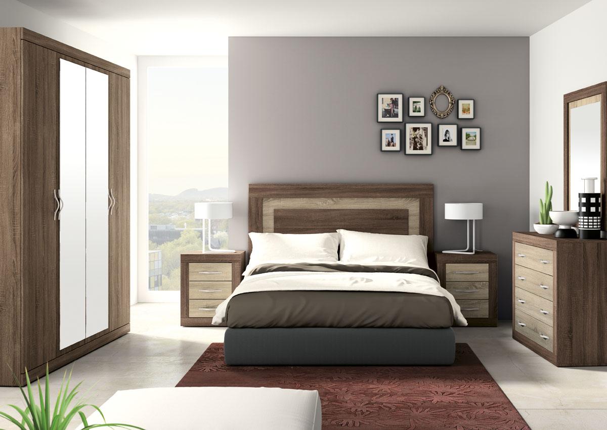 Dormitorio jordan 287 salon del mueble - Dormitorios minimalistas modernos ...