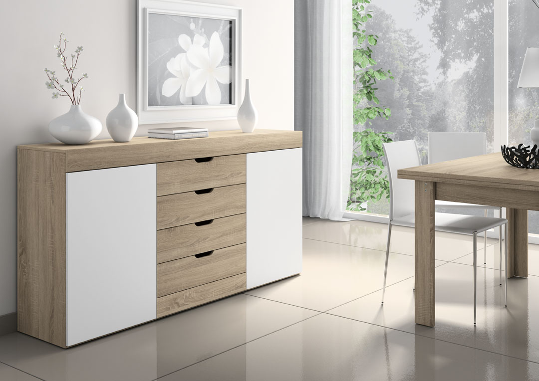 Aparador logan salon del mueble for Mueble salon logan 004